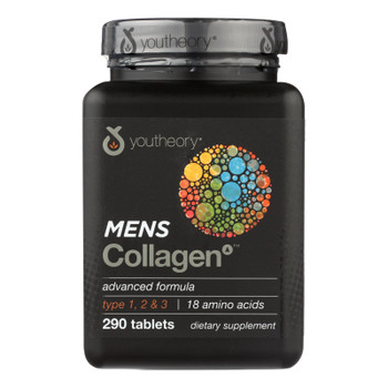 Youtheory Collagen - Mens - Advanced - 290 Tablets
