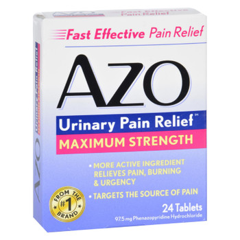 Azo Urinary Pain Relief - 24 Tablets