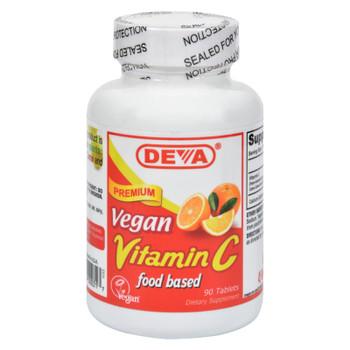 Deva Vegan Vitamins - Vitamin C - 90 Tablets