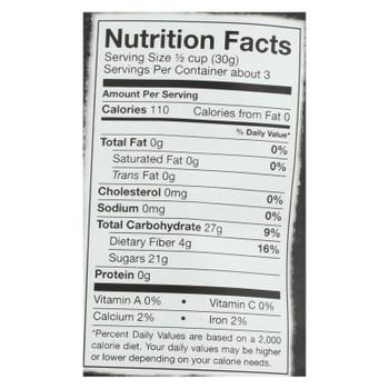 Bare Fruit Apple Chips - Organic - Crunchy - Simply Cinnamon - 3 Oz - Case Of 12
