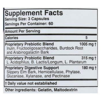 Health Plus - Prebiotic Formula - Colon Cleanse Max - 180 Capsules