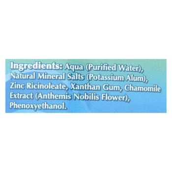 Naturally Fresh Roll On Deodorant Crystal - 3 Oz