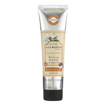 A La Maison - Hand And Body Lotion - Coconut Creme - 5 Fl Oz