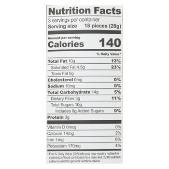 Go Raw - Organic Sprouted Cookies - Lemon - Case Of 12 - 3 Oz.