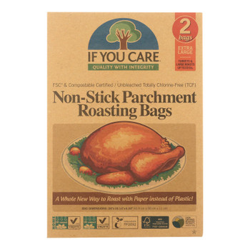 If You Care Parchment Bags - Non Stick - Extra Large - Case Of 8 - 2 Count