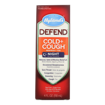 Hylands Homeopathic Defend - Cold And Cough - 4 Fl Oz.