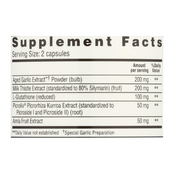 Kyo Dophilus Liver Support - 50 Capsules