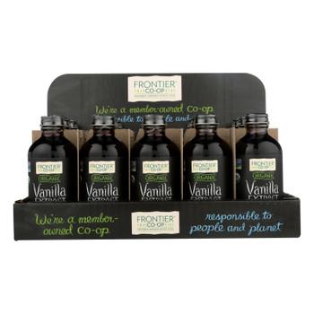 Frontier Herb - Organic - Holiday - Vanilla - Case Of 15 - 4 Oz