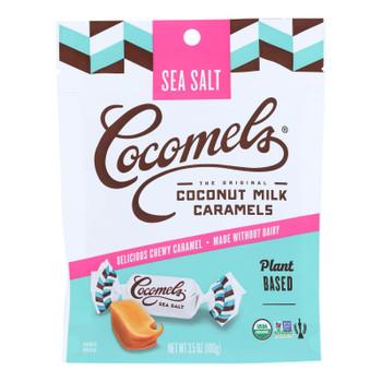Cocomel - Organic Coconut Milk Caramels - Sea Salt - Case Of 6 - 3.5 Oz.
