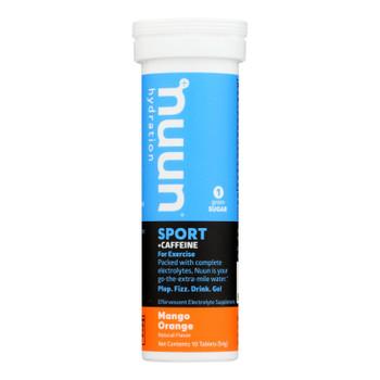 Nuun Hydration Nuun Energy - Mango Orange - Case Of 8 - 10 Tablets