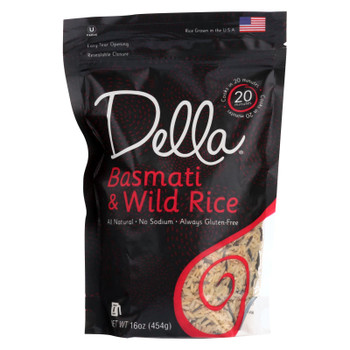 Della - Quick Cook Rice Four Grain Blend - Case Of 8 - 16 Oz.
