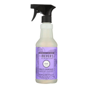 Mrs. Meyer's Clean Day - Multi-surface Everyday Cleaner - Lilac - Case Of 6 - 16 Fl Oz