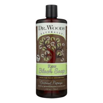Dr. Woods Naturals Black Soap - Shea Vision - Coconut - 32 Oz