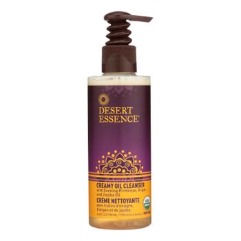Desert Essence - Creamy Oil Cleanser - 6.4 Fl Oz.