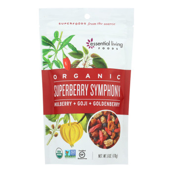 Essential Living Foods Super Berry Symphony - Goji And Golden Berries - Case Of 6 - 6 Oz.