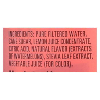 Hubert's Lemonade - Watermelon - Case Of 12 - 16 Fl Oz