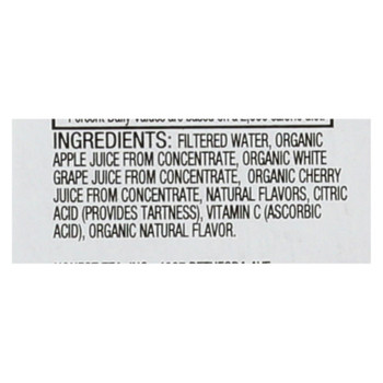 Honest Kids Organic Kids Juice Drinks - Cherry Go Round - Case Of 4 - 8/6.75fl Oz