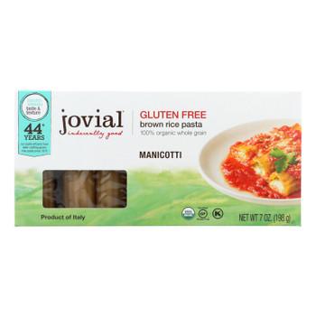 Jovial - Gluten Free Pasta - Manicotti - Case Of 12 - 7 Oz.
