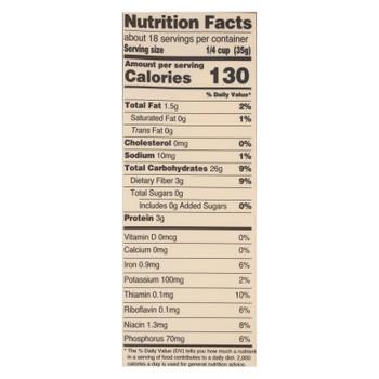 Arrowhead Mills - Organic Yellow Corn Meal - Gluten Free - Case Of 6 - 22 Oz.