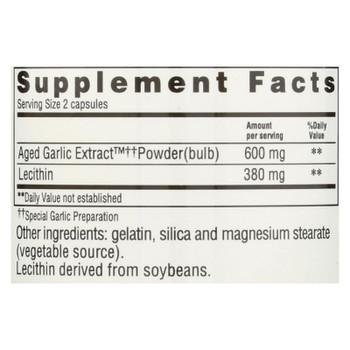 Kyolic - Aged Garlic Extract Cholesterol Formula 104 - 200 Capsules