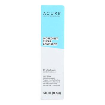 Acure - Spot Treatment - Acne - .5 Fl Oz