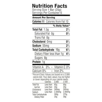 Annie's Homegrown Organic Chewy Granola Bars Oatmeal Raisin - Case Of 12 - 5.34 Oz.