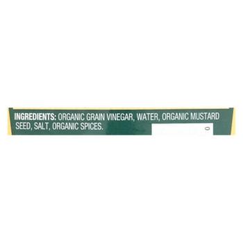 Westbrae Natural Mustard - Organic - Stoneground - Case Of 12 - 8 Oz