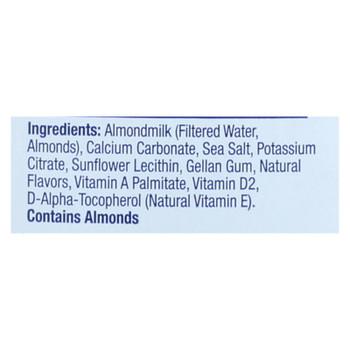 Almond Breeze - Almond Milk - Unsweetened Original - Case Of 8 - 64 Fl Oz.
