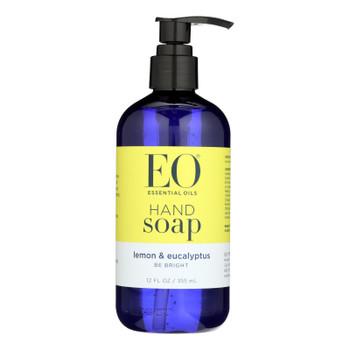 Eo Products - Liquid Hand Soap Lemon And Eucalyptus - 12 Fl Oz