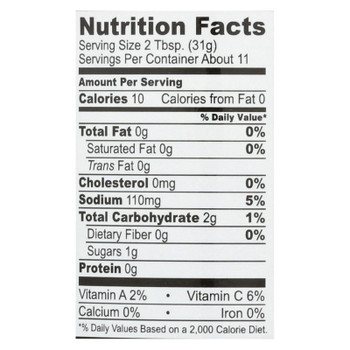 Drew's Organics Medium Thick And Chunky Salsa - 12 Oz. - Case Of 6