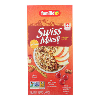 Familia Swiss Muesli - Original - Case Of 6 - 12 Oz