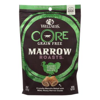 Wellness Core Dog Food - Marrow Roasts Savory Turkey Recipe - Case Of 8 - 8 Oz.