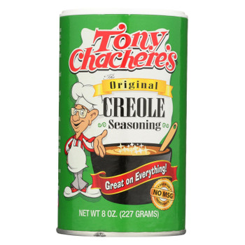 Tony Chachere's Seasoning - Creole - Case Of 6 - 8 Oz