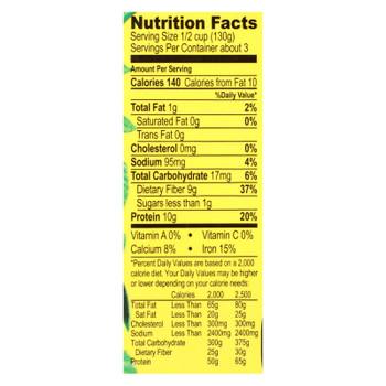 Jack's Quality Organic Black Beans - Low Sodium - Case Of 8 - 13.4 Oz