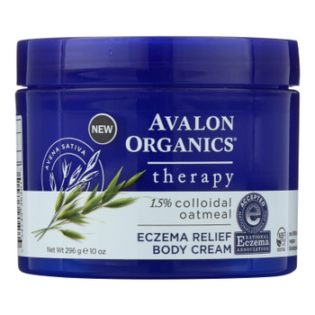 Avalon Eczema Cream - Relief - 10 Oz