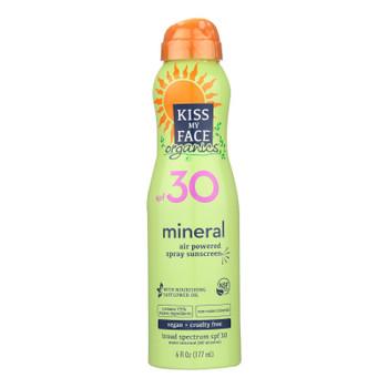 Kiss My Face Mineral Spray - Spf 30 - 6 Fl Oz