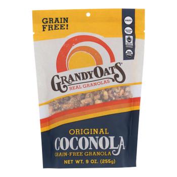 Grandy Oats Organic Granola - Original Coconola - Case Of 6 - 9 Oz