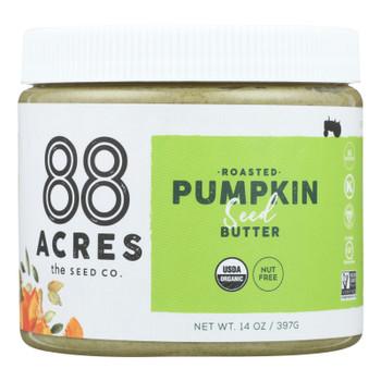 88 Acres - Seed Butter - Pumpkin - Case Of 6 - 14 Oz.