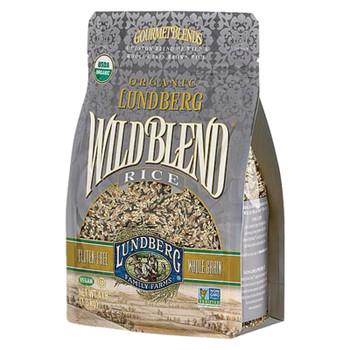 Lundberg Family Farms Organic Rice - Wild Blend - Case Of 6 - 2 Lb.
