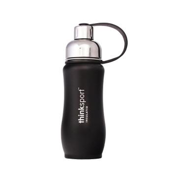 Thinksport 12oz (350ml) Insulated Sports Bottle - Black