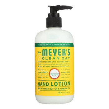 Mrs. Meyer's Clean Day - Hand Lotion - Honeysuckle - Case Of 6 - 12 Fl Oz