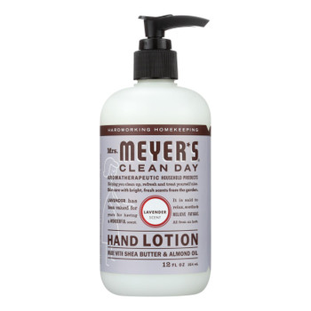 Mrs. Meyer's Clean Day - Hand Lotion - Lavender - Case Of 6 - 12 Fl Oz
