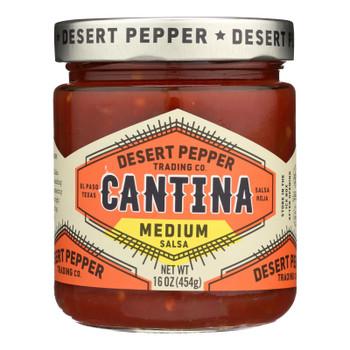 Desert Pepper Trading - Cantina Salsa - Medium Red - Case Of 6 - 16 Oz