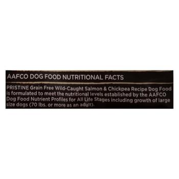Castor And Pollux Pristine Grain Free Dry Dog Food - Salmon & Chickpea - Case Of 5 - 4 Lb.