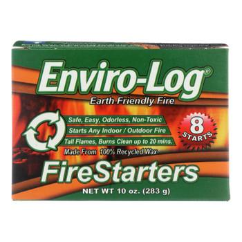 Enviro Log Firestarters - 8 Ct - Case Of 12 - 10 Oz