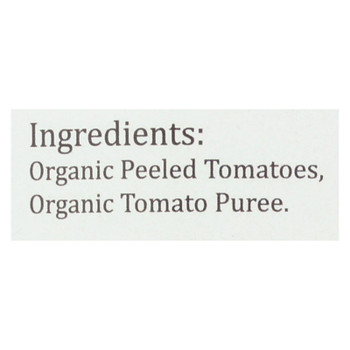 Organico Bello Tomatoes - Organic - Whole - Case Of 12 - 28 Oz