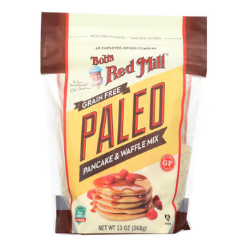 Bob's Red Mill - Pancake Mix - Paleo - Case Of 4 - 13 Oz