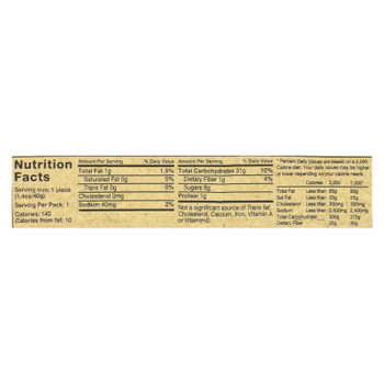 Rj's Licorice Licorice - Raspberry - Soft Eating - Case Of 25 - 1.4 Oz