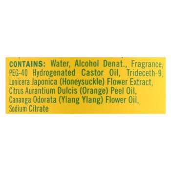 Mrs. Meyer's Clean Day - Room Freshener - Honeysuckle - Case Of 6 - 8 Fl Oz