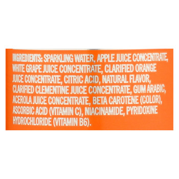 Izze Can - Sparkling - Clementine - Case Of 12 - 8.4 Fl Oz